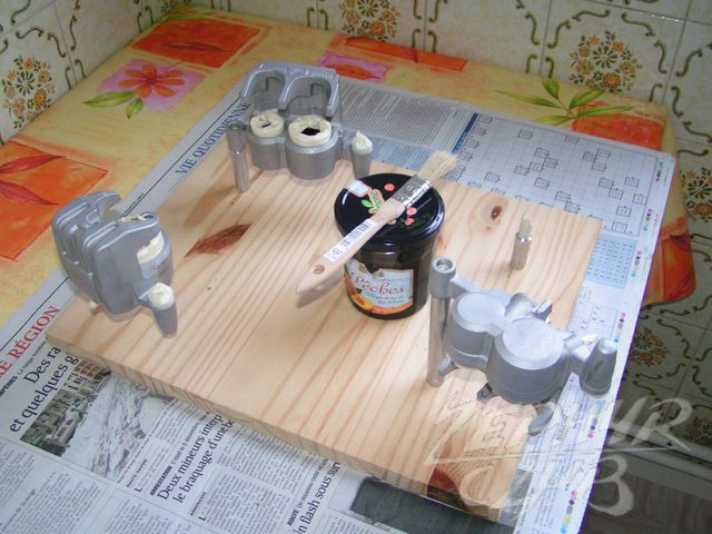 toutes remise en tat des triers part2 peinture. Black Bedroom Furniture Sets. Home Design Ideas